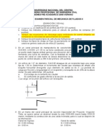Segundo Examen Parcial de Mecánica de Fluidos II