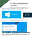 Como Instalar o Windows 10 a Partir de Um Pendrive