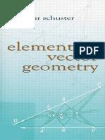 Elementary Vector Geometry