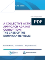 Anti-corruption Coalition Building in the Dominican Republic Caf March 11
