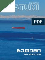 BATUMI GUIDE, Guidebook, ბათუმი