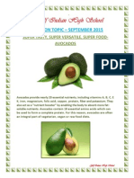 Nutritional Topic - Sep 2015