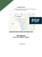 Resultados de Simulacion Río Nepeña