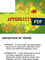 Appendicitis & Appendectomy ppt