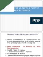 Fundamentos de Teoria e Política Macroeconômica
