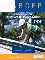 NABCEP PV Installer Resource Guide August 2012 v.5.3(1)