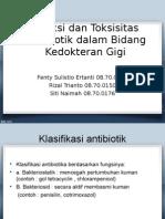 Slide Referat Antibiotik Pada Gigi