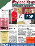 The Wayland News October 2015
