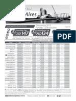 Tarifario Hoteles Buenos Aires - Feriado 12 de Octubre 2015