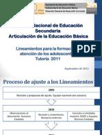 Adecuaciones de La Tutoria 2006 - 2011