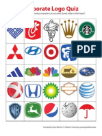 Corporate Logo Quiz