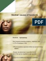 Medical Causes of Headache