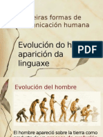 Primeras formas de comunicación humana