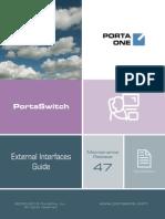 PortaSwitch Interfaces MR47