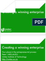 Creating a winning enterprise