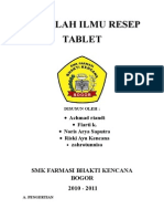 Data Makalah Tablet