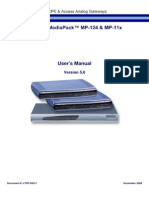 LTRT-65411 MP-11x and MP-124 SIP User's Manual Ver 5 6