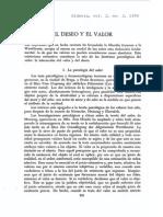 El Deseo y El Valor.