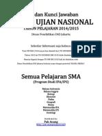Naskah Soal Dan Kunci Jawaban to UN DKI 2015 by Pak-Anang.blogspot.com
