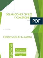 737 Obligaciones Civiles y Comerciales Clase Uno 2015
