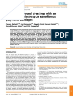A Review on Wound Dressings With An