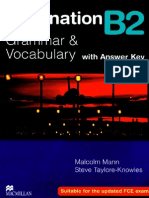 Destination B2 Grammar and Vocabulary With Answer Key (1)