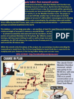 Indias First Monorail at Mumbai