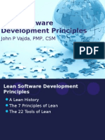 Lean Software Development Principles