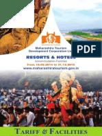 MTDC Resort Tariff