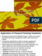 Chemical Finishing Treatments