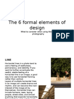 the 6 formal elements of design