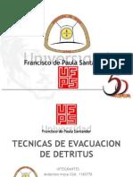Tecnica de Evacuacion de Detritus (1)