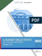 Budget dello Stato 2015 2017