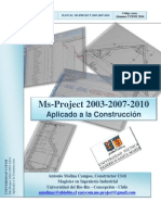 Manual Microsoft Project 2003-2007-2010 UTFSM
