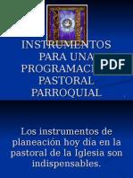 Instrumentos Para Una Programacion Pastoral Parroquial