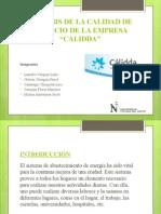 Ppt p y e t3 Empresa Calidda