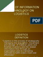 Impact of It on Logistics