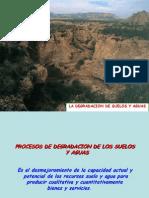 2 La Degradacion de Suelos y Agua
