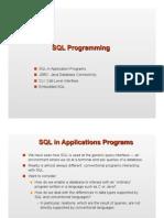 [Chapter 9] SQLProgramming