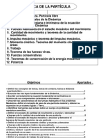 IV- Dinámica Partícula