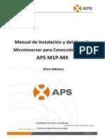 Manual de Instalacion Usuario APS YC500A