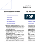 one page report pdf