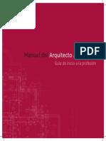 Manual de Acceso a La Profesion de Arquitecto