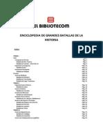 Batallas de La Historia Vol. II - Tomo V