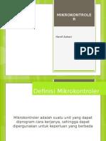 MIKROKONTROLER Definisi, Jenis, Struktur