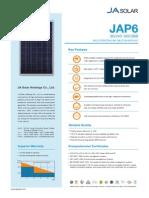Panel JA Solar 245-265W