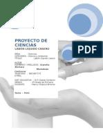Proyecto de Ciencias Presentacion Del Trabajo 2014