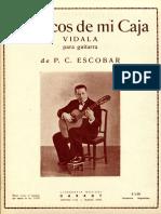 Escobar Los Ecos de Mi Caja