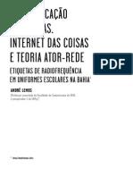 Andre Lemos - A Comunicacao Das Coisas