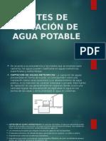 Fuentes de Captación de Agua Potable